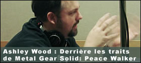 Dossier - Ashley Wood : Derrière les traits de Metal Gear Solid: Peace Walker