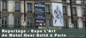 Dossier - Reportage - Expo L'Art de Metal Gear Solid