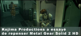 Dossier - Kojima Productions a essayé de repenser MGS2 HD