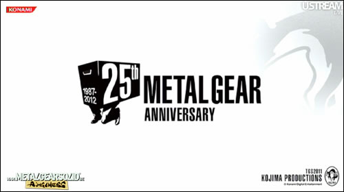 Kojima Productions 25 ans Metal Gear
