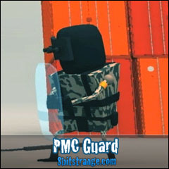 8 Bit Strange artwork PMC Guard