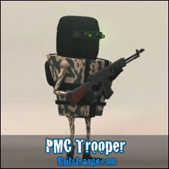 8 Bit Strange artwork PMC Trooper