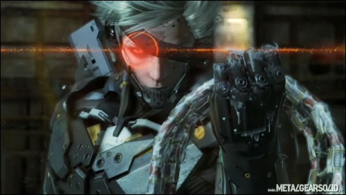 Metal Gear Solid Rising Raiden