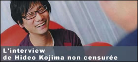 Dossier - E3 2009 - L'interview de Kojima non censurée !!!