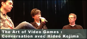Dossier - The Art of Video Games - Conversation avec Hideo Kojima
