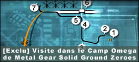 Dossier - Visite dans le Camp Omega de Metal Gear Solid Ground Zeroes