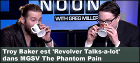 Dossier - Troy Baker est Revolver Talks-a-lot dans MGSV The Phantom Pain