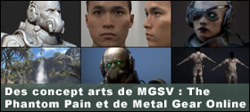 Dossier - Des concept arts de Metal Gear Solid V : The Phantom Pain et de Metal Gear Online 3