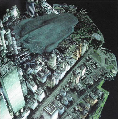 Rendu 3D de Manhattan The Document of Metal Gear Solid 2