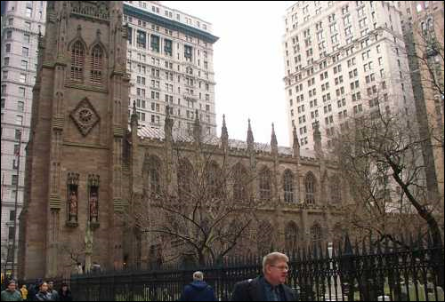 Trinity Church et son cimeti�re Trinity Trinity Churchyard