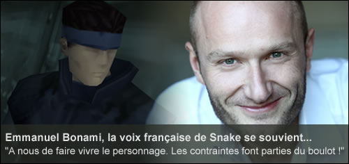 Interview Emmanuel Bonami Metal Gear Solid