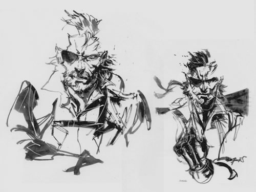 Big BossPeace Walker concept Yoji Shinkawa