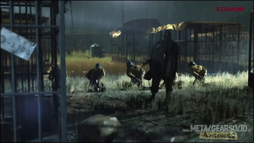 Metal Gear Solid Ground Zeroes Camp Omega