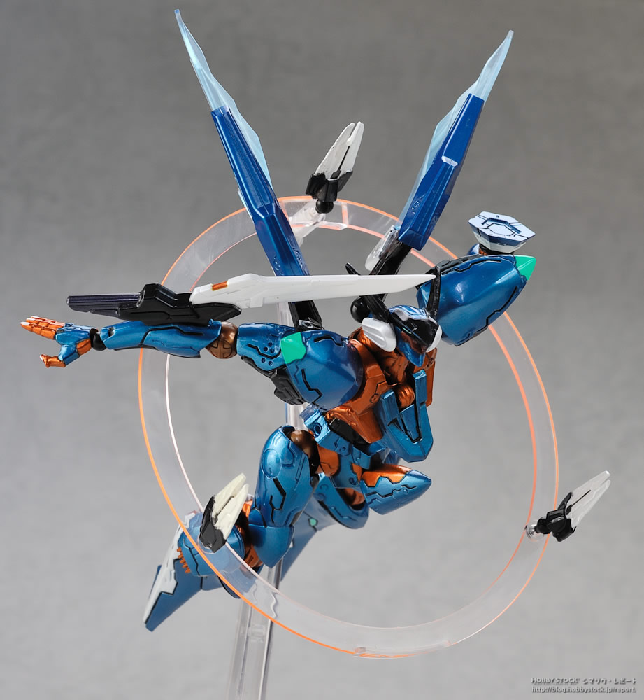 Sortie de la figurine de Jehuty Zone of the Enders