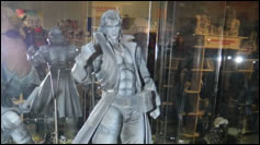 Prototype figurine de Liquid Snake Play Arts Kai
