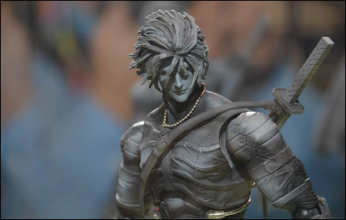 Prototype figurine de Raiden Play Arts Kai