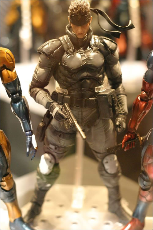 Figurine Solid Snake Kojima Productions Tokyo Game Show 2011