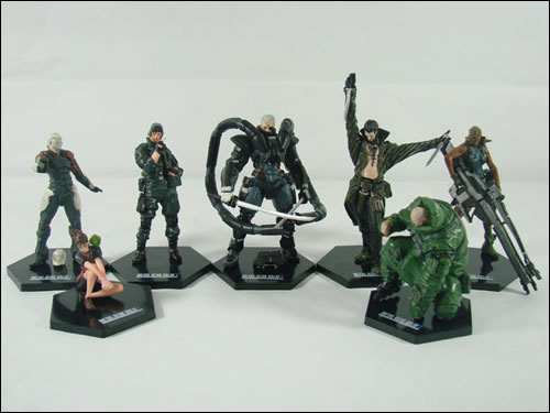 Figurines contrefaites Metal gear Solid 2