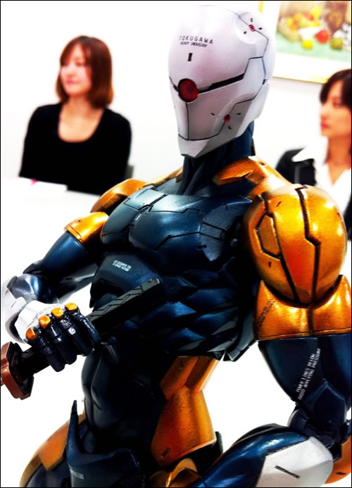 Gray Fox en Figurine