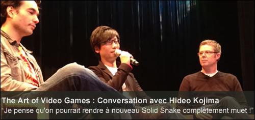 Conversation avec Hideo Kojima The Art of Video Games