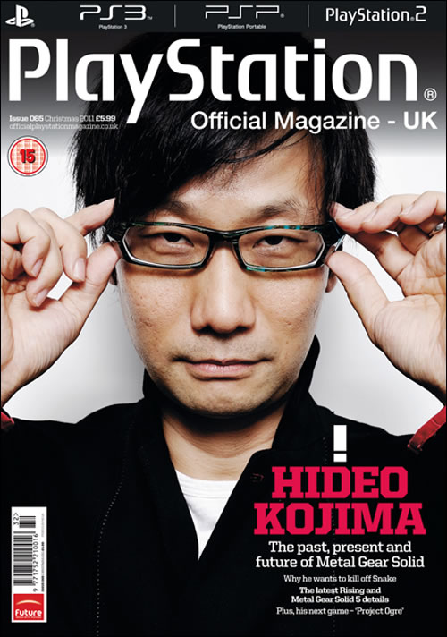Hideo Kojima Official PlayStation Magazine UK