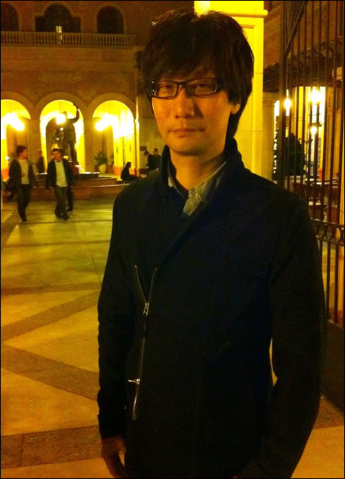 Hideo Kojima à l'USC School of Cinematic Arts