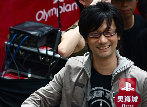 Hideo Kojima sortie Peace Walker