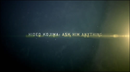 Hideo Kojima parle de Ground Zeroes, The Phantom Pain, Portable Ops...