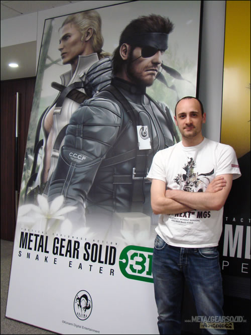 Interview Lionel Lovisa Kojima Productions