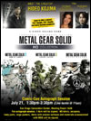 Affiche Comic Con 2011 Kojima Productions