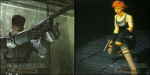 Premi�res images de 3D de synth�se de Metal Gear Solid Snake et Meryl
