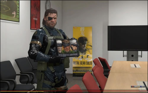 Le bento Metal Gear Solid avec Big Boss dans le Fox Engine