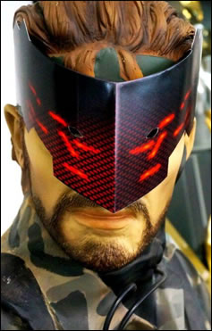 Masque en carton de Metal Gear Rising Revengeance