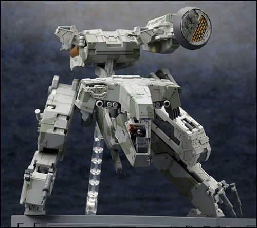 Le Metal Gear Rex, version Metal Gear Solid 4, arrive chez Kotobukiya