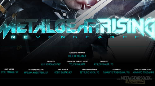 Metal Gear Rising Revengeance VGA 2011 Trailer Kojima