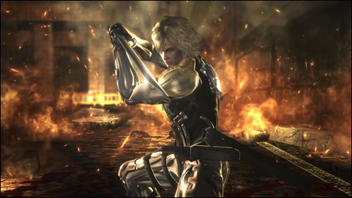Raiden dans Metal Gear Rising Revengeance