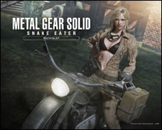 Images wallpapers de Metal Gear Solid 3 Snake Eater sur Pachislot
