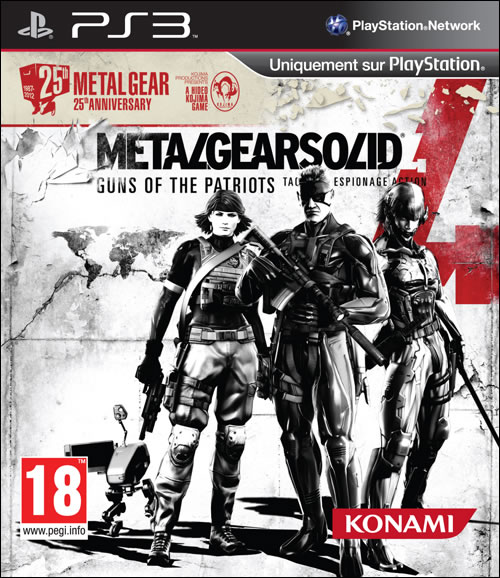 Plus d'info sur la nouvelle édition de Metal Gear Solid 4 Guns of the Patriots
