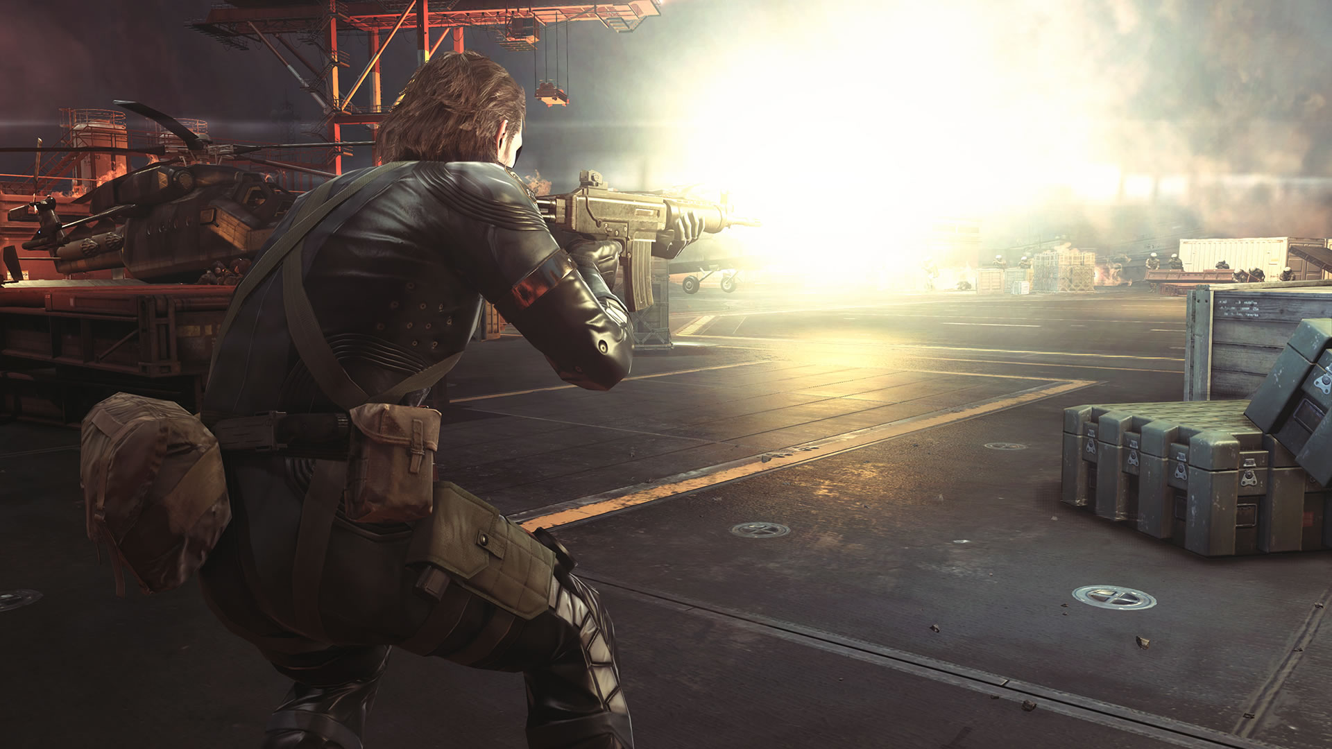 Une flopée d'images impressionnantes de Metal Gear Solid V : Ground Zeroes sur PC