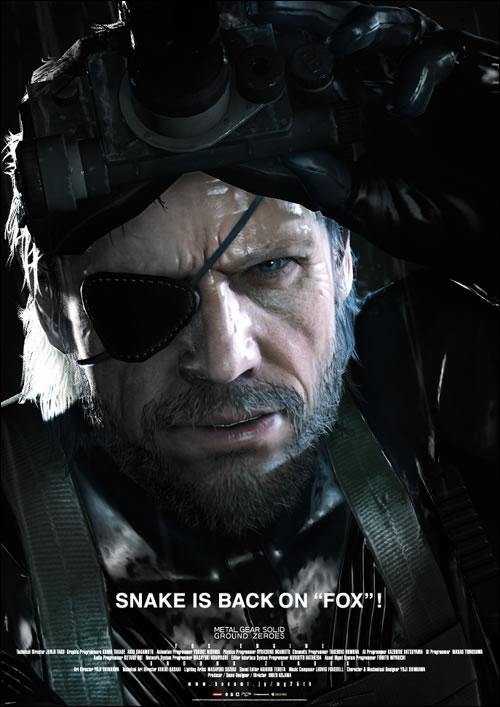 Metal Gear Solid Ground Zeroes : Snake is back on the Fox