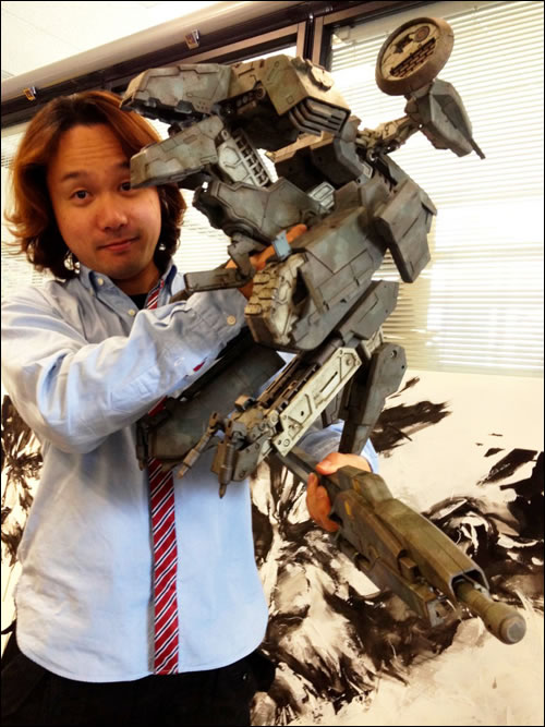 Figurine Metal Gear Rex par ThreeA chez Kojima Productions