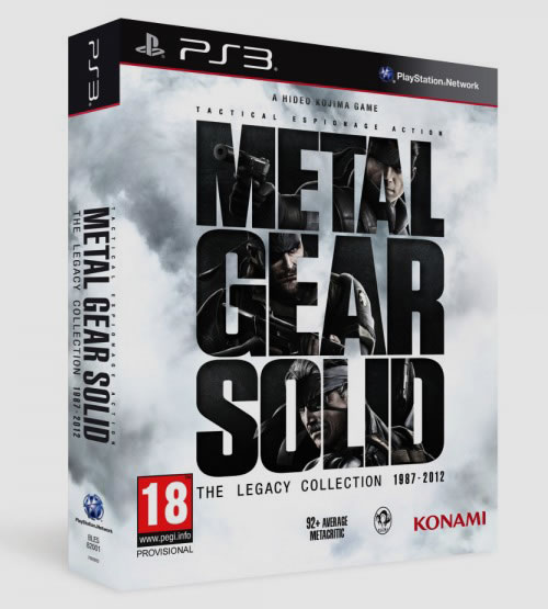Metal Gear Solid : The Legacy Collection en approche en Europe