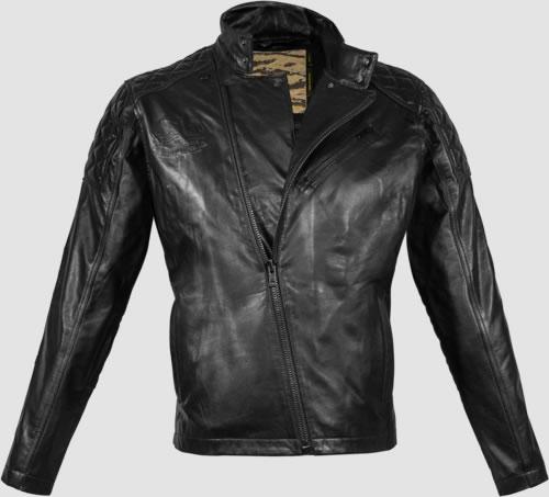 Blouson cuir metal gear solid 5