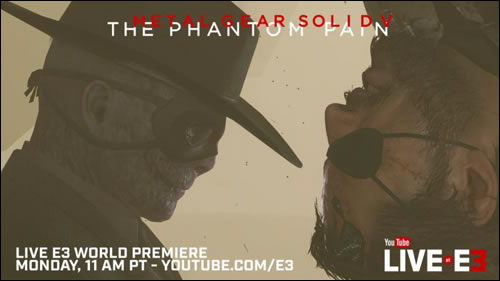 À 20h, visionnez en direct le nouveau trailer de MGSV : The Phantom Pain
