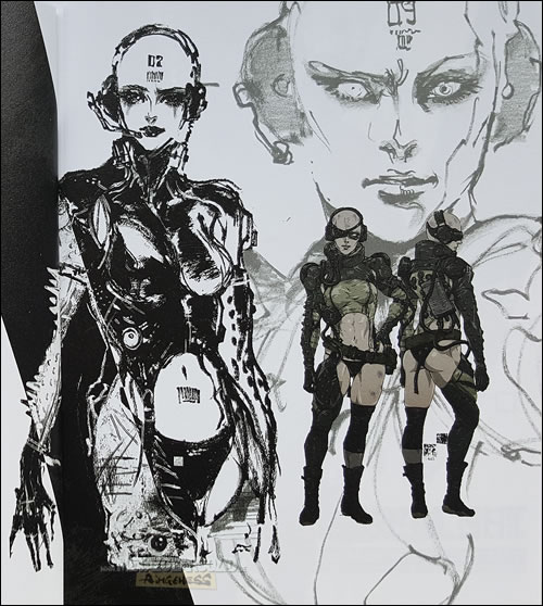 Des images de l'artbook du collector japonais de Metal Gear Solid V : The Phantom Pain