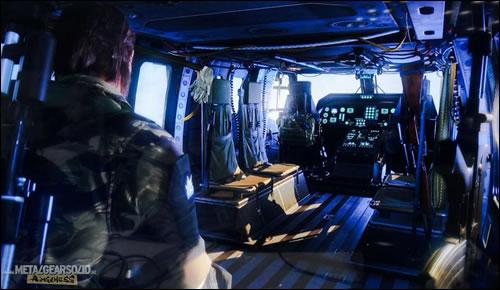 Metal Gear Solid: MGSV : Y a-t-il un pilote dans l\'hélico ?