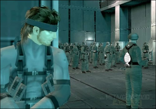 Metal Gear Solid 2 poisson d'avril