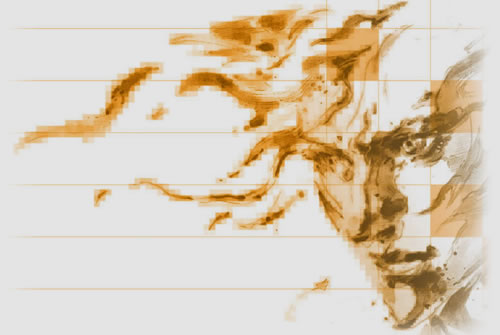 Artwork Raiden par Yoji Shinkawa Metal Gear Solid 2