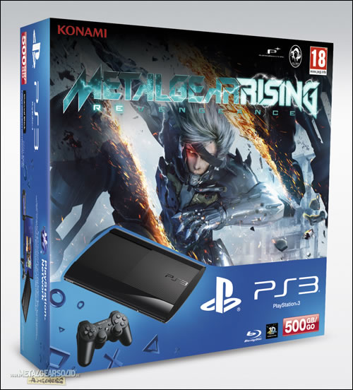 Un pack PlayStation 3 Metal Gear Rising Revengeance en France
