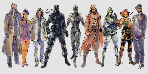 Les coulisses de l'enregistrement de Metal Gear Solid 1